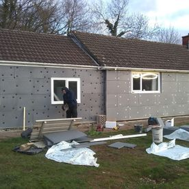 External Wall Insulation, Plastering and Rendering